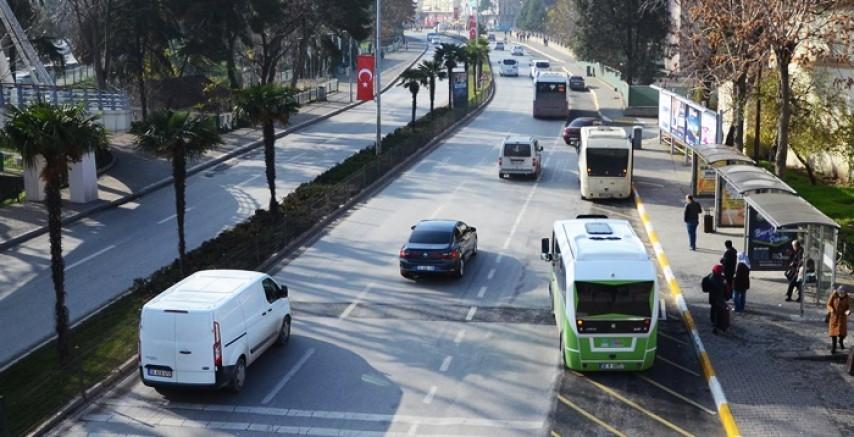 Balıkesir'de yüzde 53 trafik rahatladı