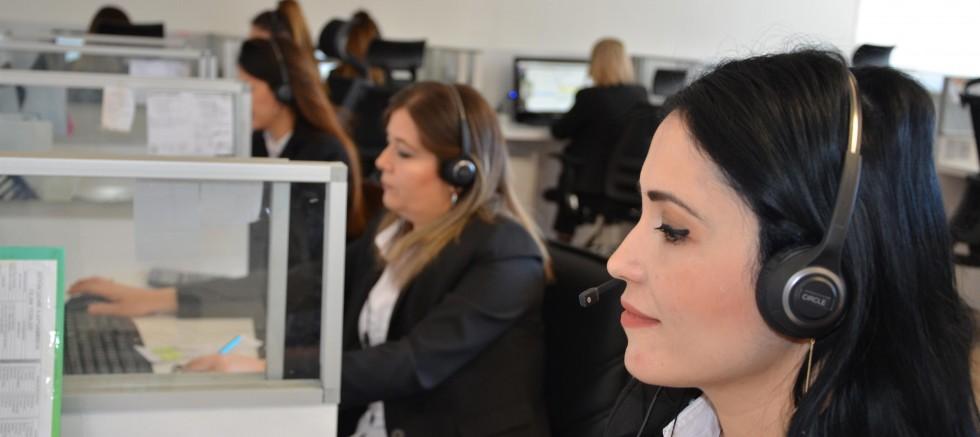 Büyükşehir Çağrı Merkezi 100 binin üzerinde çağrı cevapladı