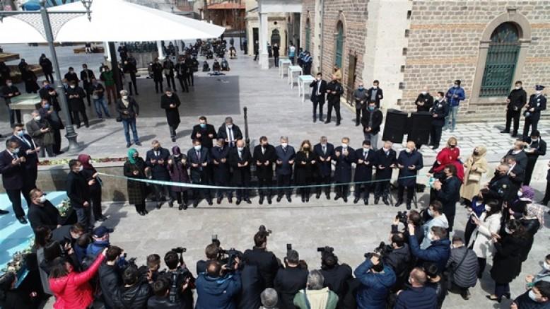 Zağnos Paşa Camisi eski ihtişamına kavuştu
